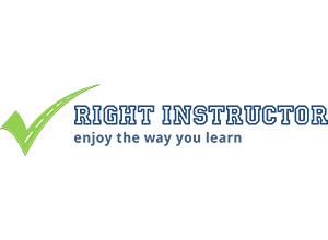 Right Instructor logo design