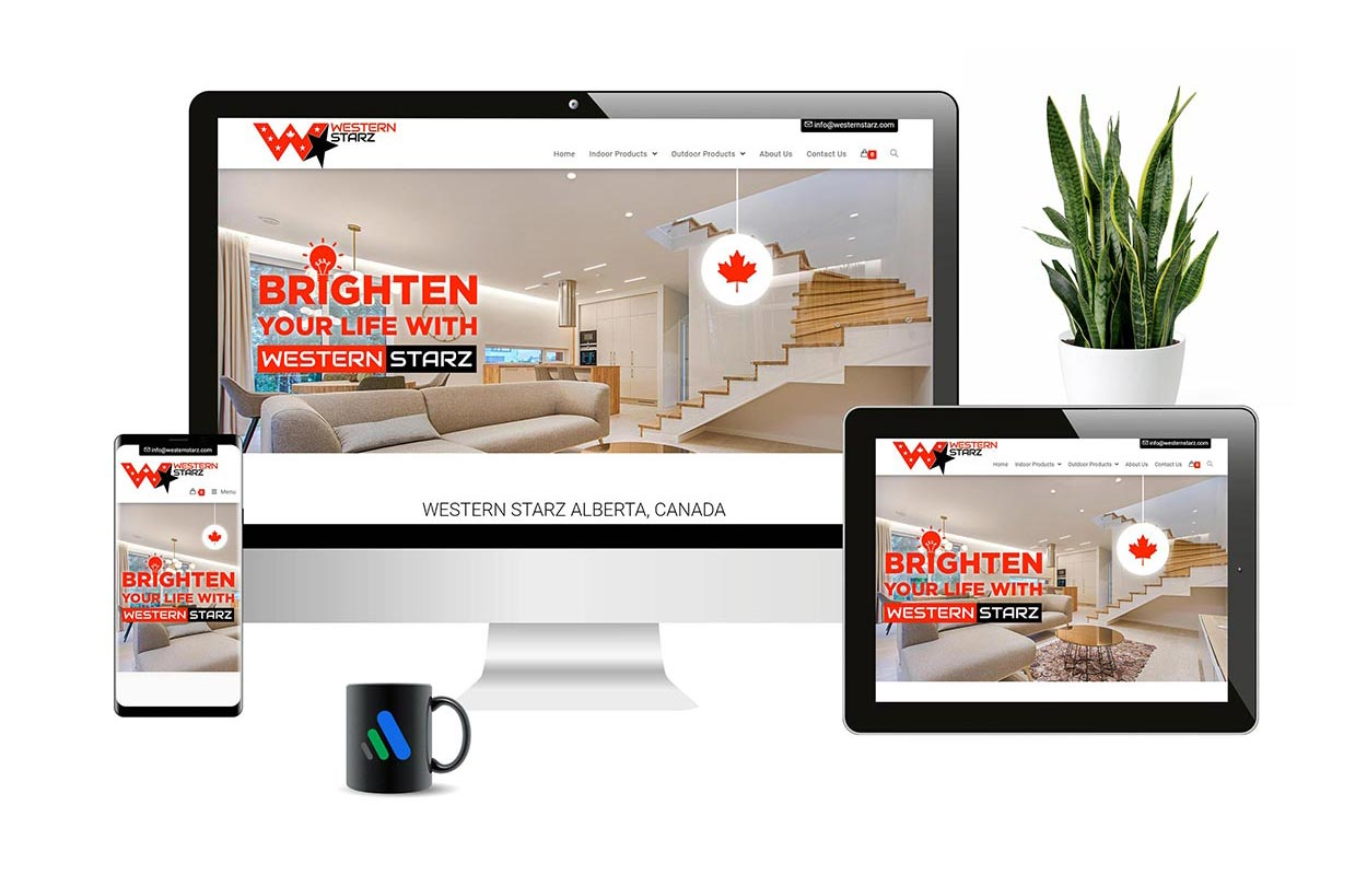 Western Starz | Responsive E-commerce Web Design