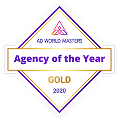 Agency Of The Year GOLD Award 2020