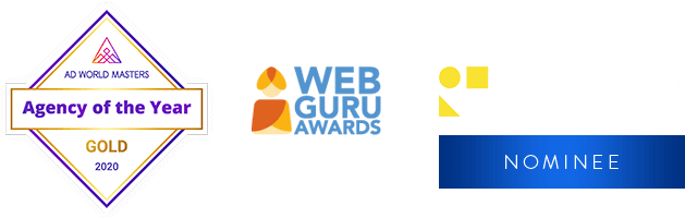 Awards - Agency of the Year, Guru of the Day, CSSAS Awards Nominee